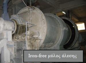 iron-free μύλος άλεσης